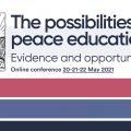 Three-day online conference on peace education