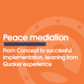 New report on peace mediation